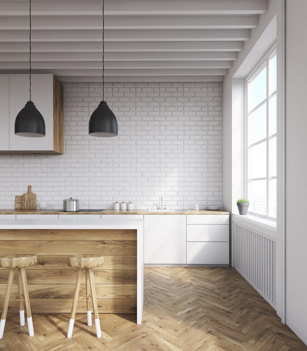biała kuchnia industrial