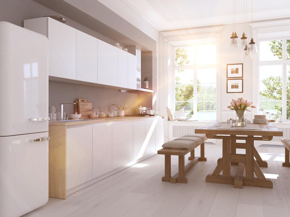 biała kuchnia jakie fronty