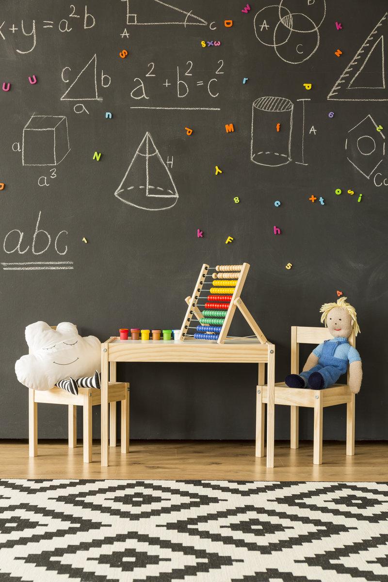 farba tablicowa pokój dzieciecy