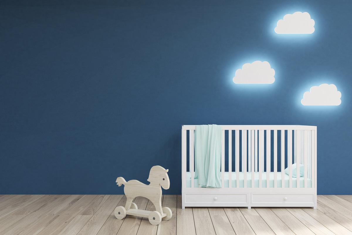 pokój niemowlaka oświetlenie