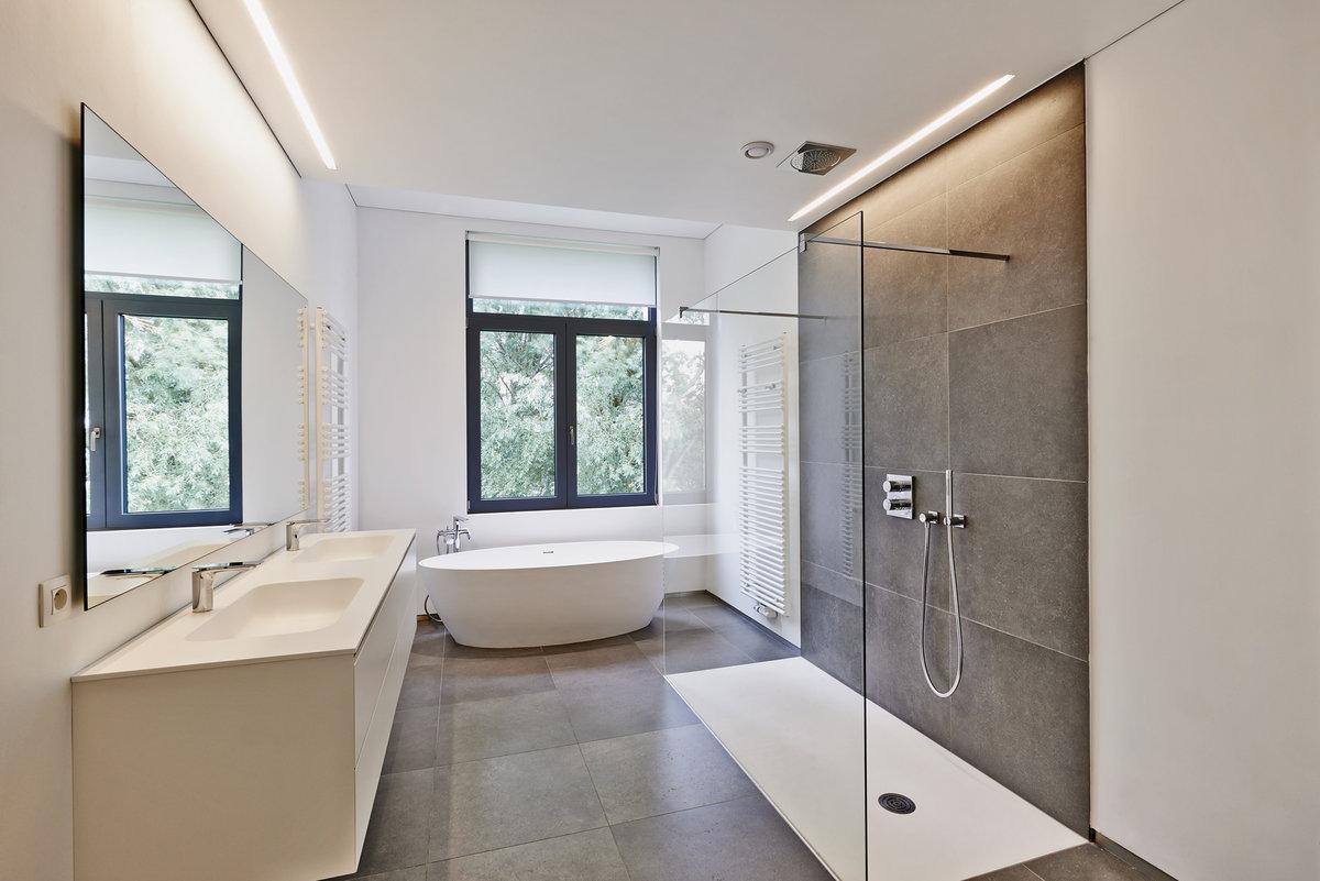 łazienka w stylu nowoczensym