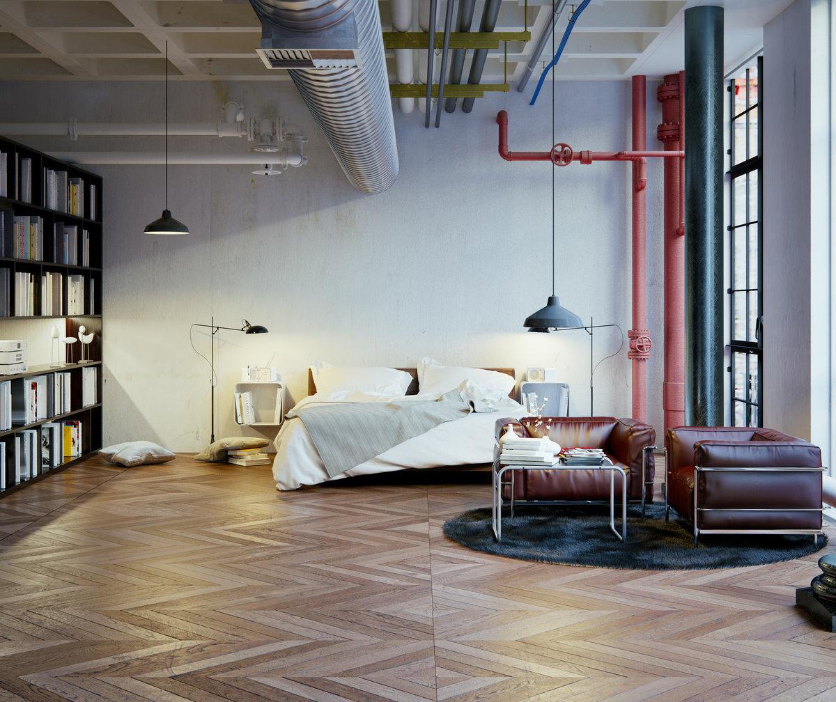 industrialna sypialnia