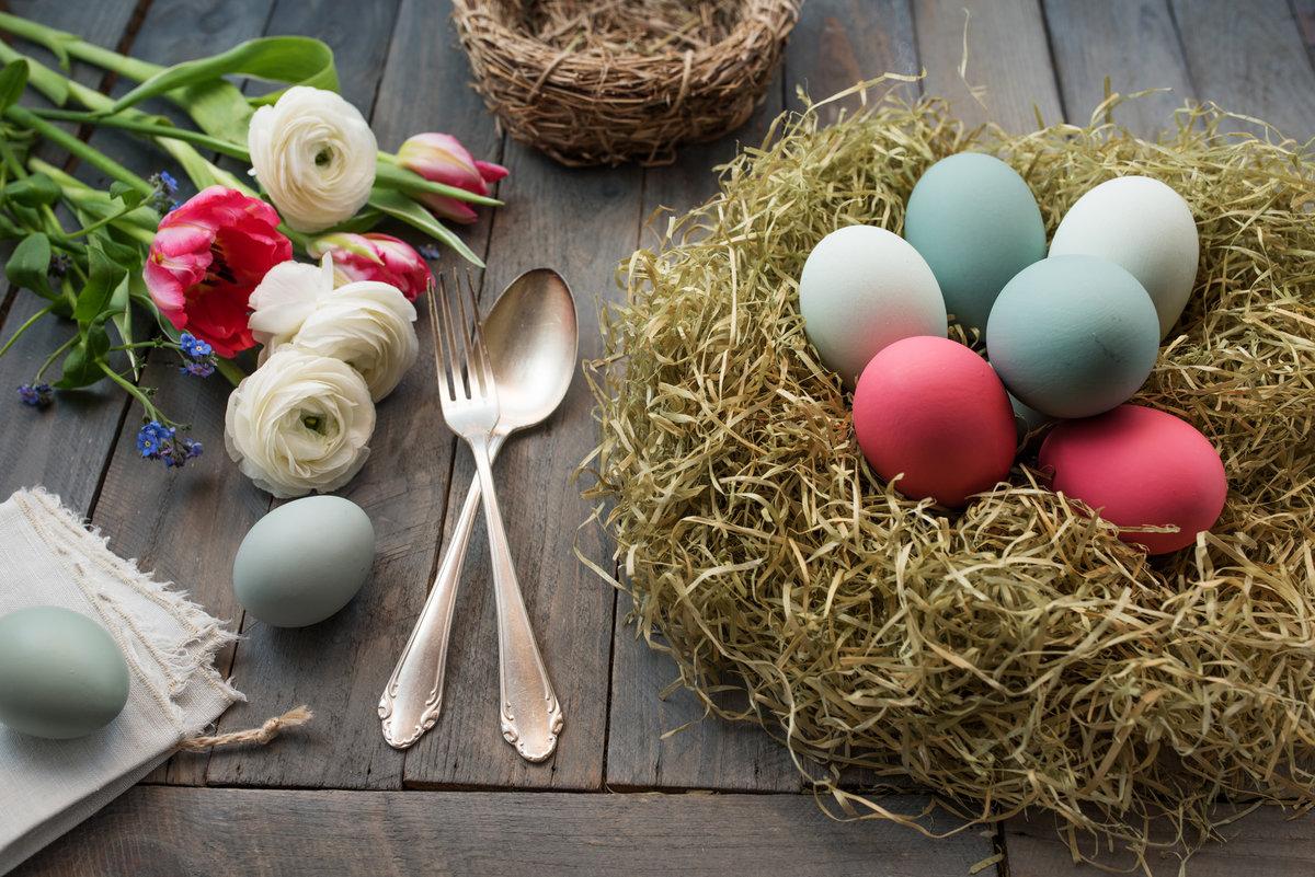 naturalne barwniki do jajek, pisanki