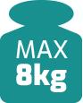 max udzwig 8 kg