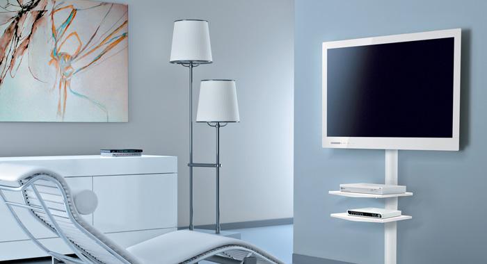 Pomys y na aran acj k cika tv - Porta televisore a muro ...