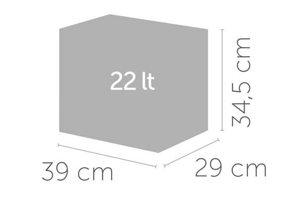 Ecocubes 22 litry